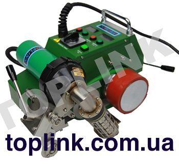 оборудование, аппарат для сварки пвх мембраны баннера тента toplink