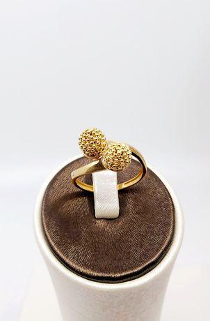 Złoty pierścionek próba 585 Rozmiar 18