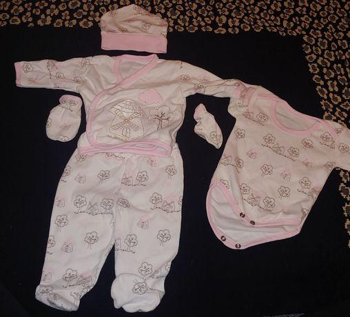 Komplet niemowlęcy dla dziewczynki 62