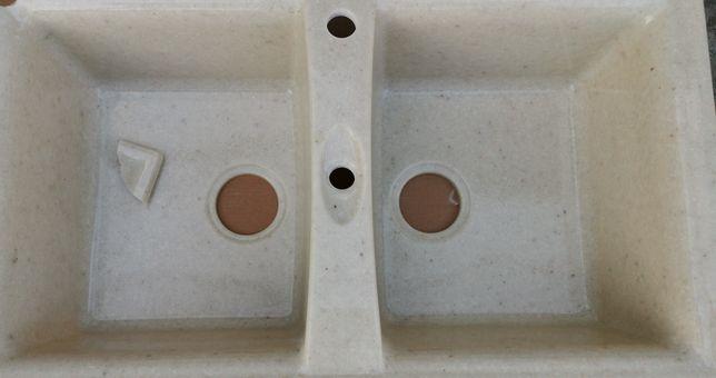 Мийка керамічна з сифоном