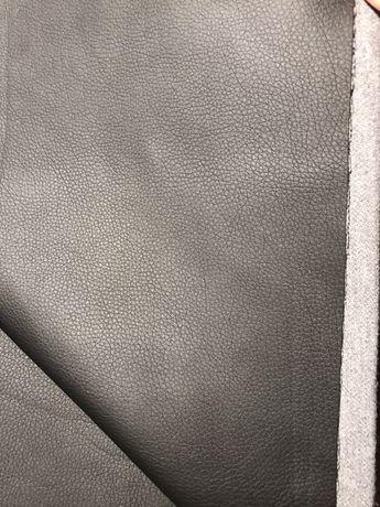 Кусок ткани кожзам чёрный 3,20м на 1,45м