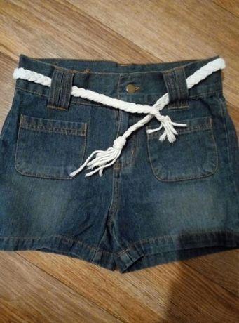 Шорты детскте джинсовые