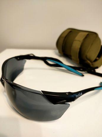 Okulary taktyczne ochronne bolle safety przyciemniane GRATIS etui