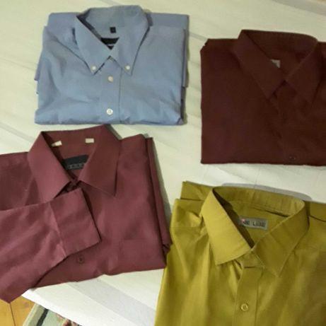 Мужские рубашки с длинным рукавом. Размер 42, 43. Рост 182/188
