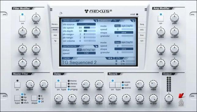 Nexus 2 reFX syntezator, wtyczka do produkcji muzyki (Pakiet)