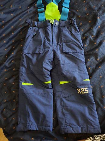 Spodnie zimowe narciarskie ocieplacze smyk cool club 98