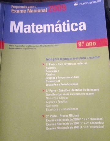 Livros preparação exames 9°ano