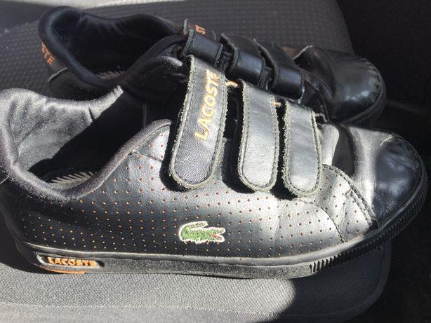Lacoste buty dla chłopca rzepy roz.35