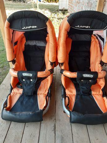 Коляска, візок для двойні, погодок Tako Jumper Duo