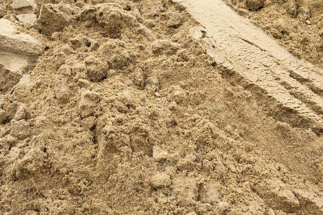 Piach piasek budowlany do tynków, zasypowy transport