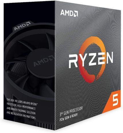 Processador AMD Ryzen 5 3600 6-Core (3.6GHz-4.2GHz) 36MB AM4