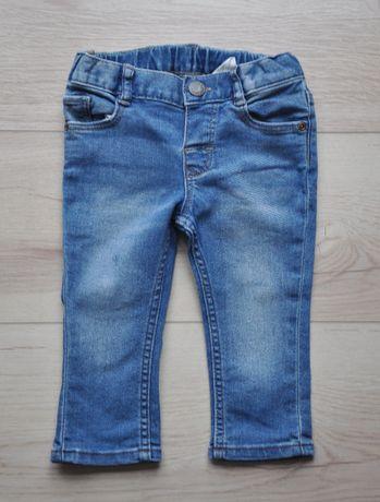 H&M spodnie jeans bdb rozm. 74