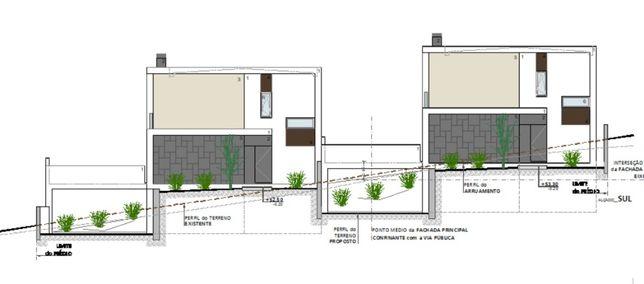 Lote terreno para construção moradia Geminada + destaque