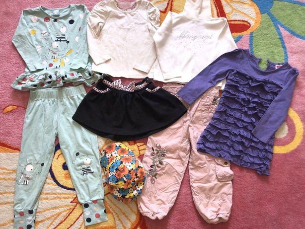 Пакет одежды вещей для девочки 2-3 года 92-98