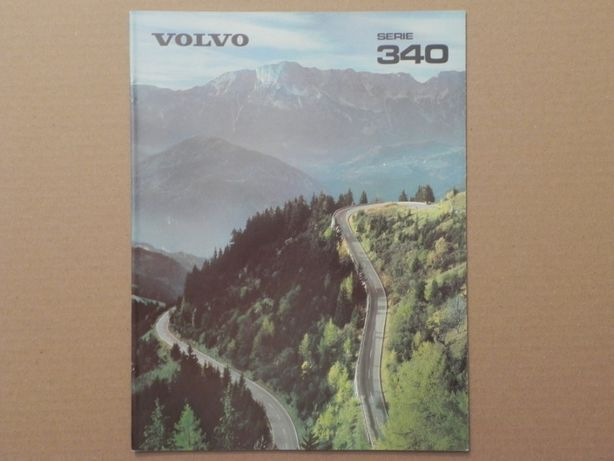 Prospekt - VOLVO 340 . 1980 r