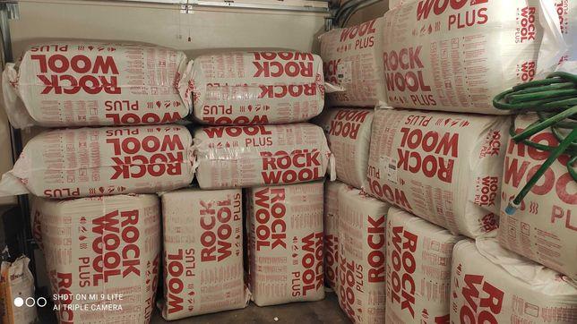 Sprzedam - Wełna mineralna Rockwool d160 - 3,66m2 - cena za paczkę