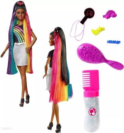 Lalka fashionistas rainbow hair tęczowe włosy AA rarytas, OSTATNIA