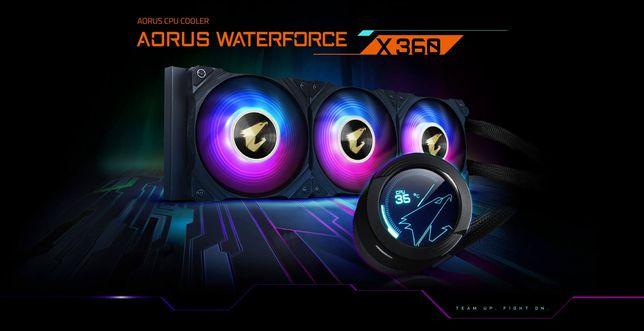 AORUS WATERFORCE X 360 gigabyte Water cooler