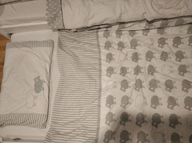 Poszewka i wypelnienie do kołderki i poduszki