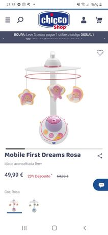 Mobile first dreams rosa chicco