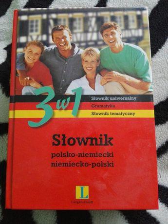 Słownik polsko-niemiecki 3 w 1