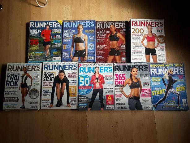 Mega zestaw gazet biegowych Runner's World - lata 2008-16