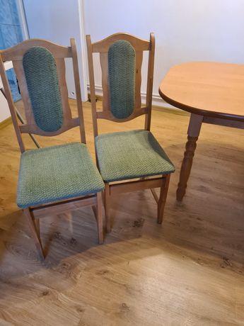 Sprzedam stol i 8 krzesel tapicerowanych
