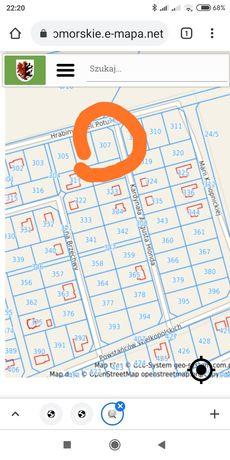 POTULICE . Sprzedaż , Działka budowlana nr 307.  1062m2