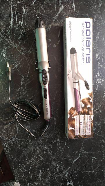 Новая Плойка для волос электрощипцы Polaris 32мм
