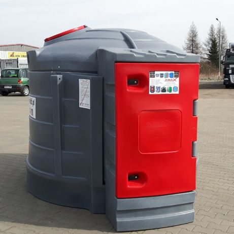 Zbiornik 5000l + system kontroli paliwa - karty chipy - paliwo diesel
