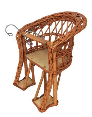 Krzesełko/Fotelik wiklinowy na rowerek MINI