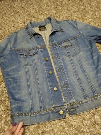 Kurtka jeansowa,,Lee,,ćwieki