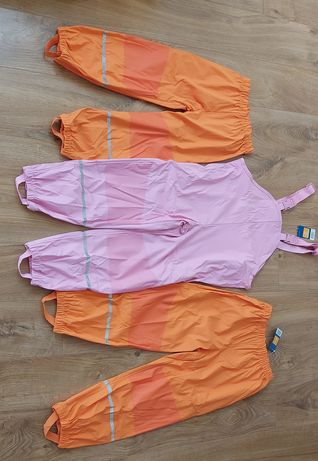 Дождевик, штаны от дождя, грязепруф, дощовик Lupilu 116, 122-128см.