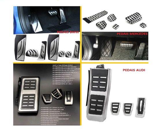 Capas pedais Bmw | Seat | Mercedes | Audi | VW | Skoda