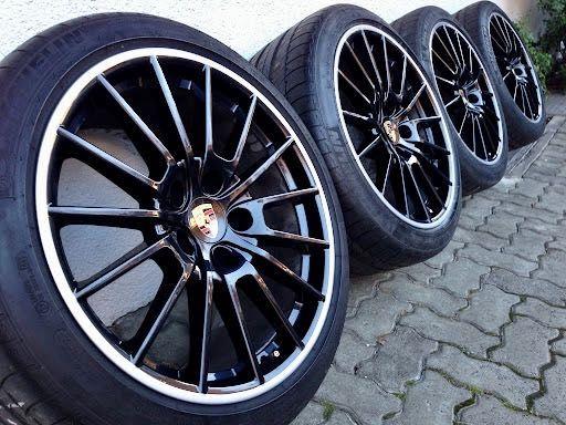 Оригинальные диски шины Porsche Panamera GTS Turbo R20 ковка
