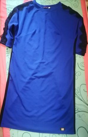 Стильное платье 54 р