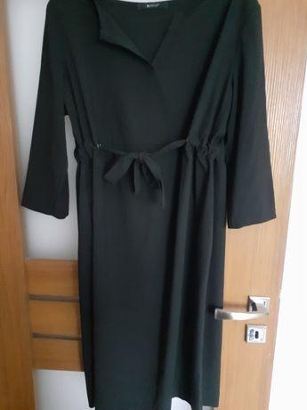 Sukienka ciążowa czarna XL