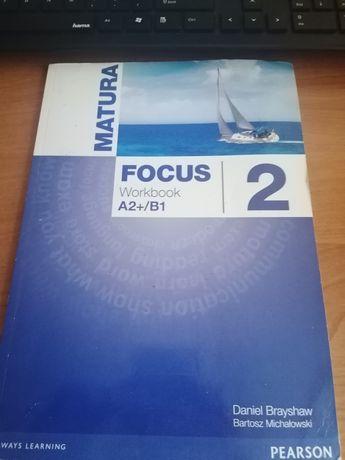 Matura Focus 2 Workbook jak nowe