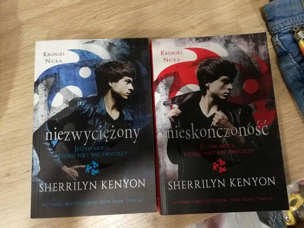 Zestaw książek seria KRONIKI NICKA S. Kenyon