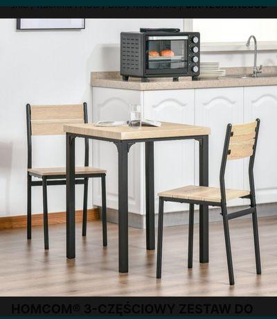 Stół do jadalni plus 2x krzesło