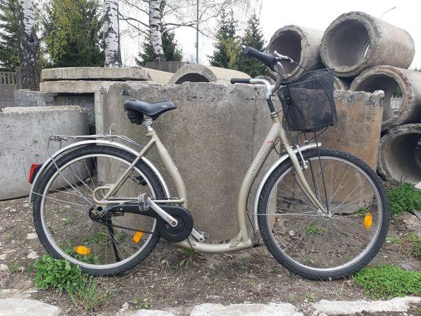 Rower damka niska rama
