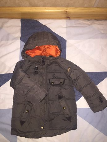 Куртка zara р. 98 б.у.