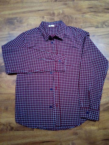 Koszula chłopięca w kratę 152