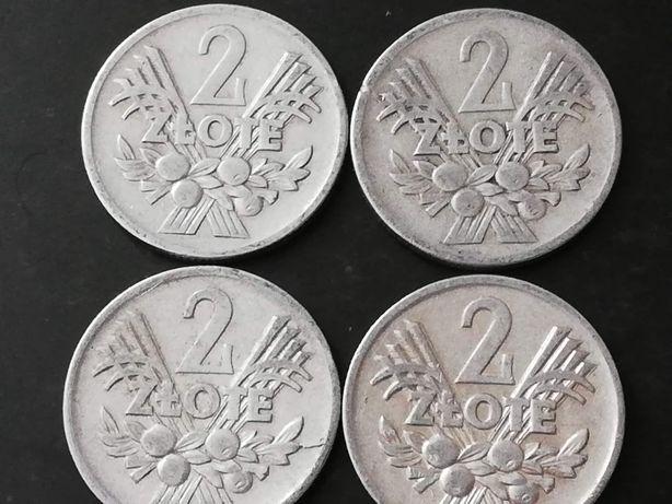 Zestaw 2 złote Jagody monety PRL 1958, 1960, 1973, 1974