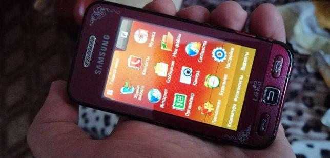 Продам телефон сенсорний Samsung gt-s5230+зарядне оригінальне.ОРИГІНАЛ