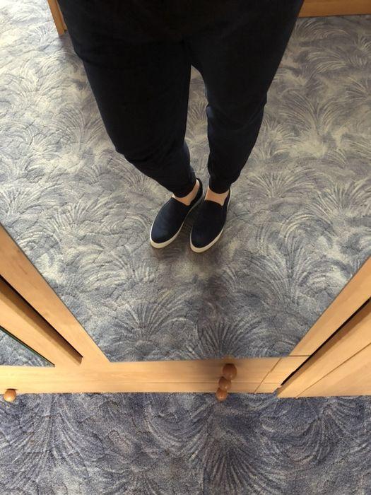 Granatowe buty / trampki typu slip on rozm. 41 Giżycko - image 1