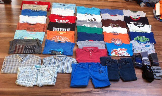 Zestaw 41 ubrań, r. 5-6 lat, 110, 116, 122 cm