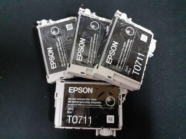 Tinteiros EPSON T0711 Black