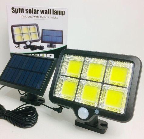МОЩНЫЙ Лампа-фонарь LED светодиодный светильник на солнечной батарее