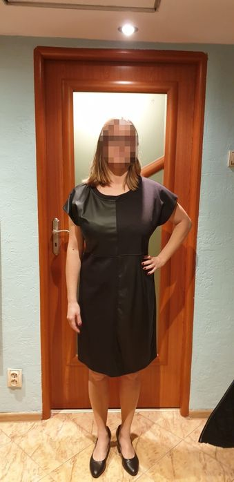 Sukienka czarna rozmiar 42 stan idealny Sosnowiec - image 1